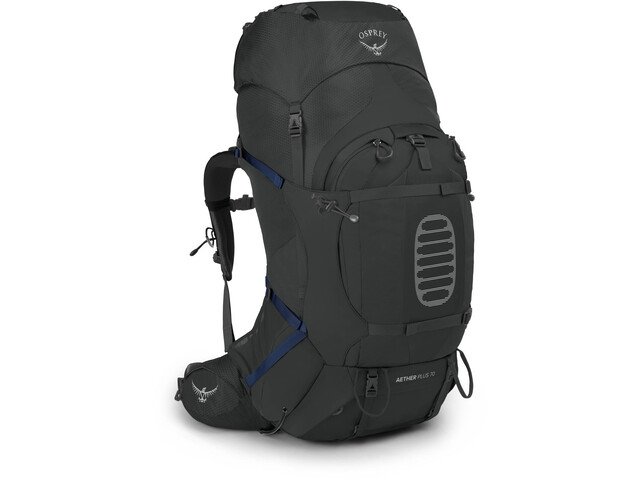 Osprey Aether Plus 70 Backpack, eclipse grey